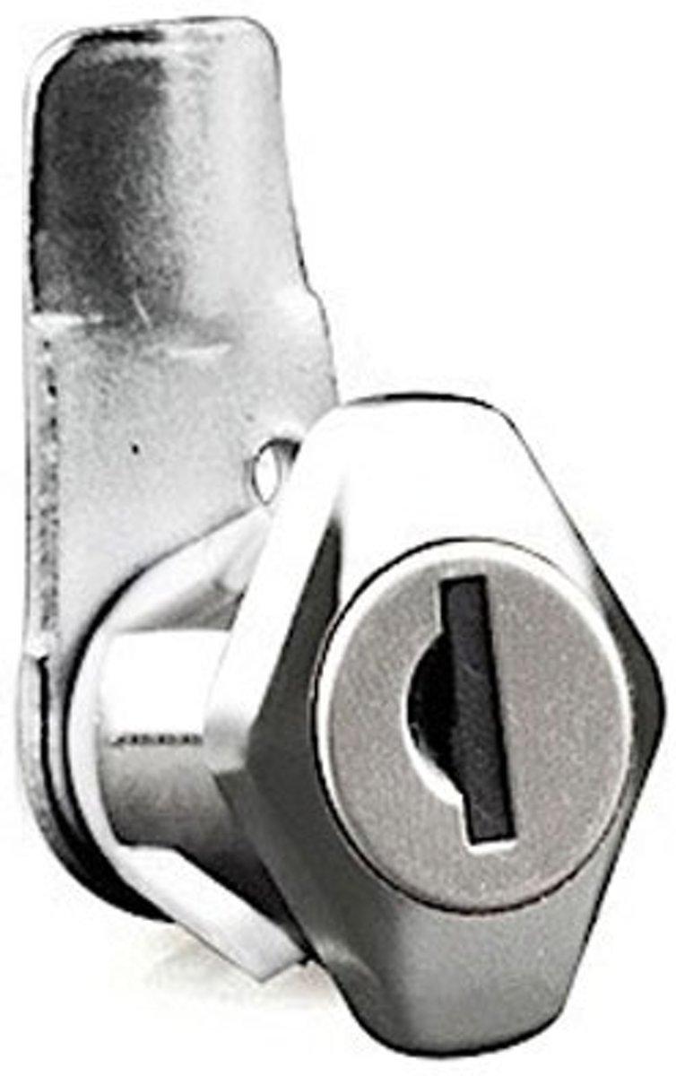 17mm Kantel slot - Premium - kunststof borging