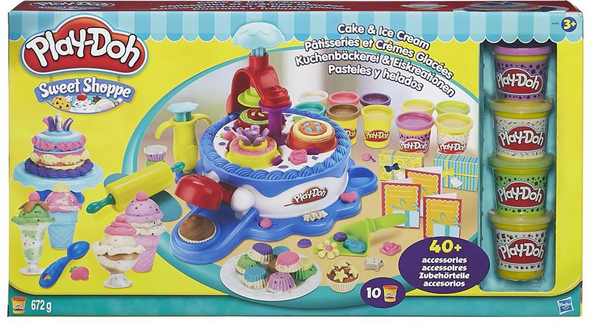 Playdoh CAKE AND ICE CREAM - play-doh klei
