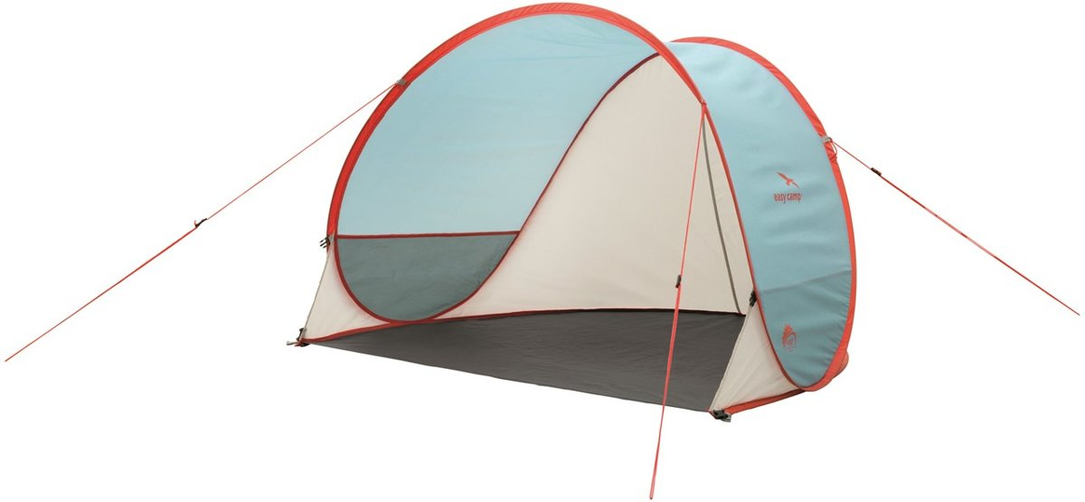 Easy Camp Beach Ocean Windscherm - Blue/white/red kopen