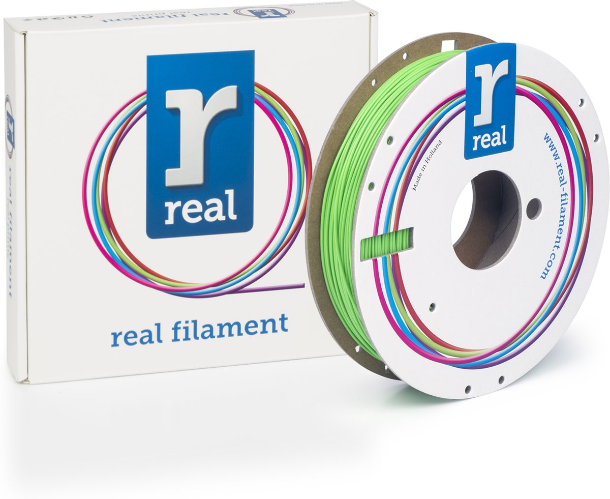 REAL Filament PLA nucleair groen 1.75mm (500g)