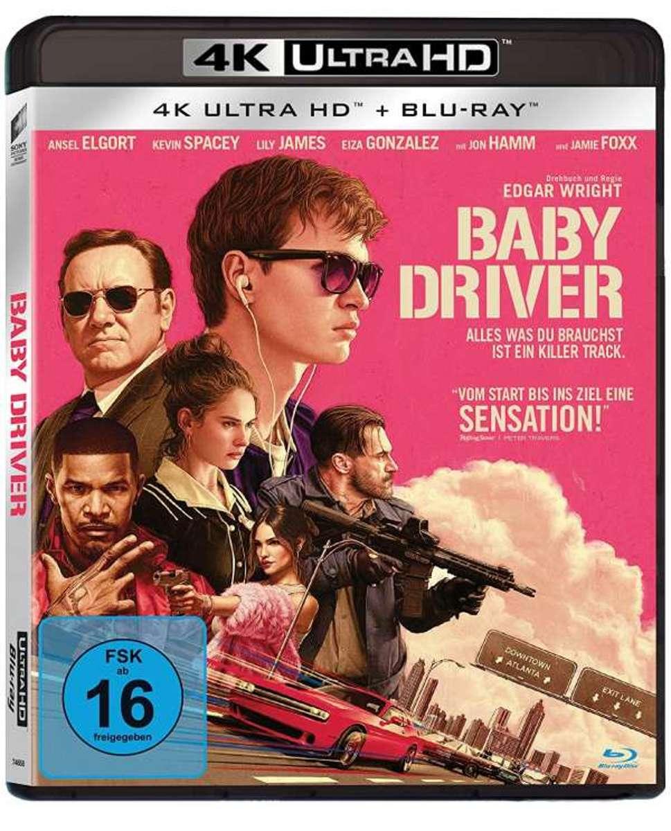Baby Driver (Ultra HD Blu-Ray & Blu-Ray)-