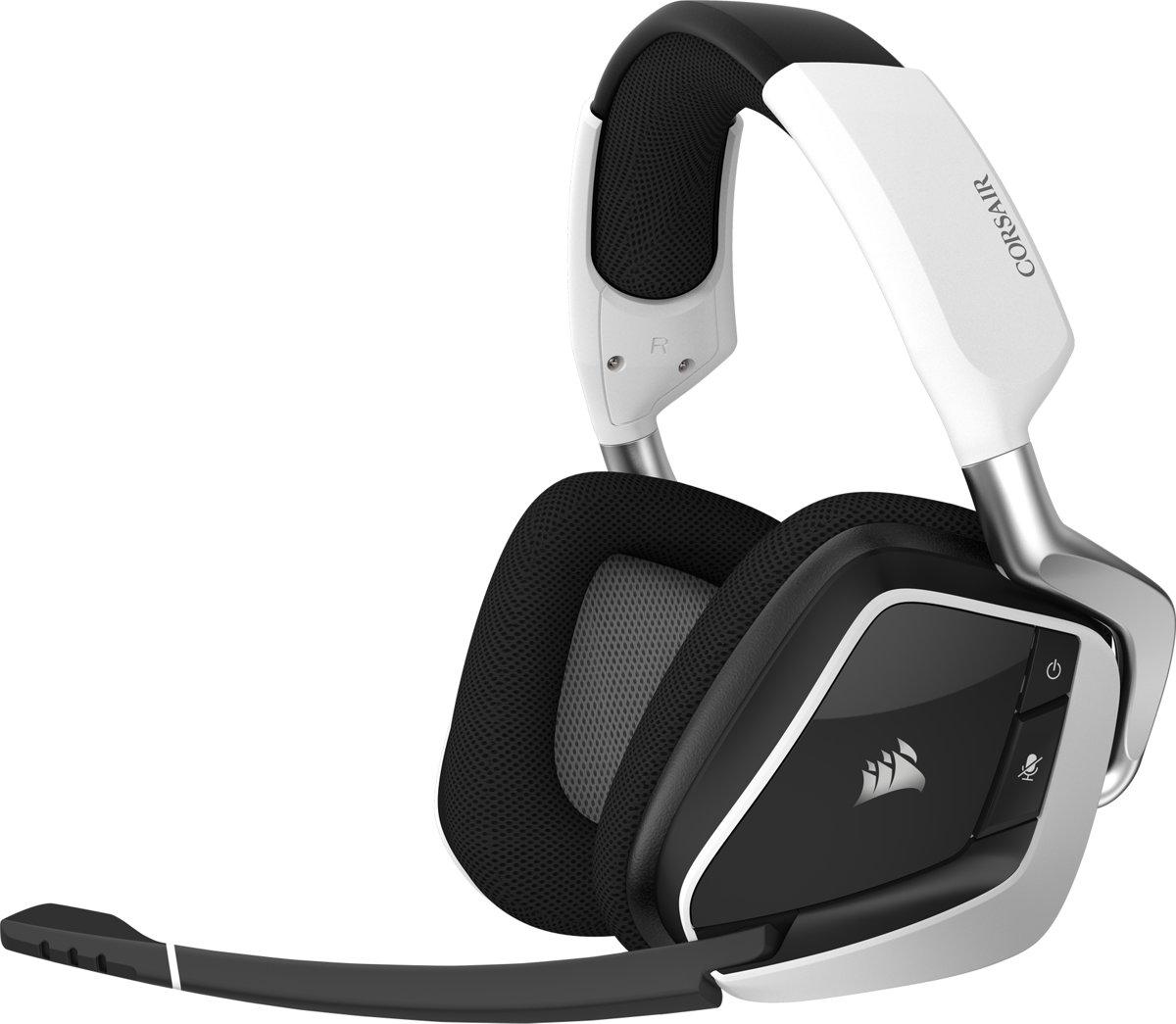 Corsair Void RGB Elite Surround Premium Draadloze Gaming Headset - Zwart/Wit - PC kopen
