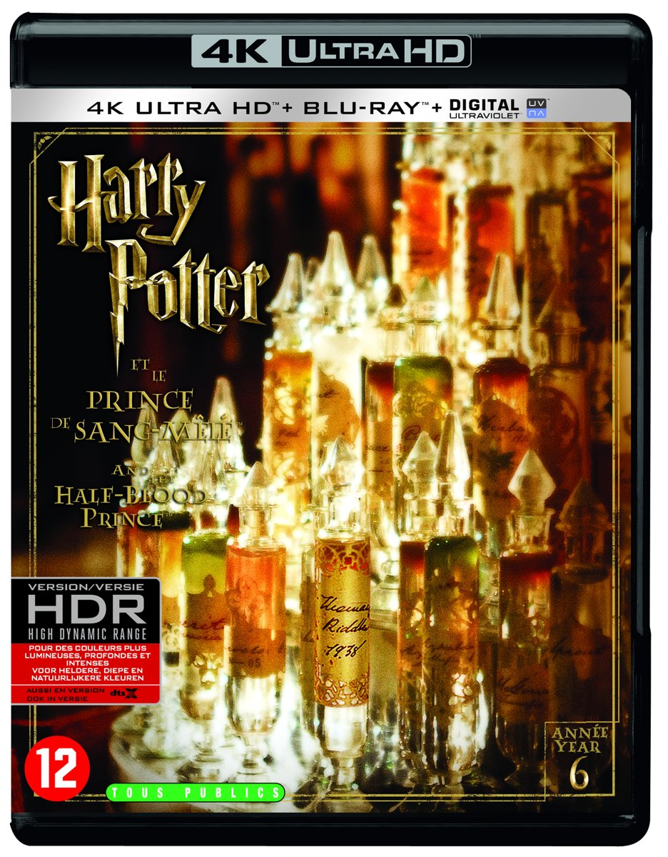 Harry Potter And The Half-Blood Prince (4K Ultra HD Blu-ray)-
