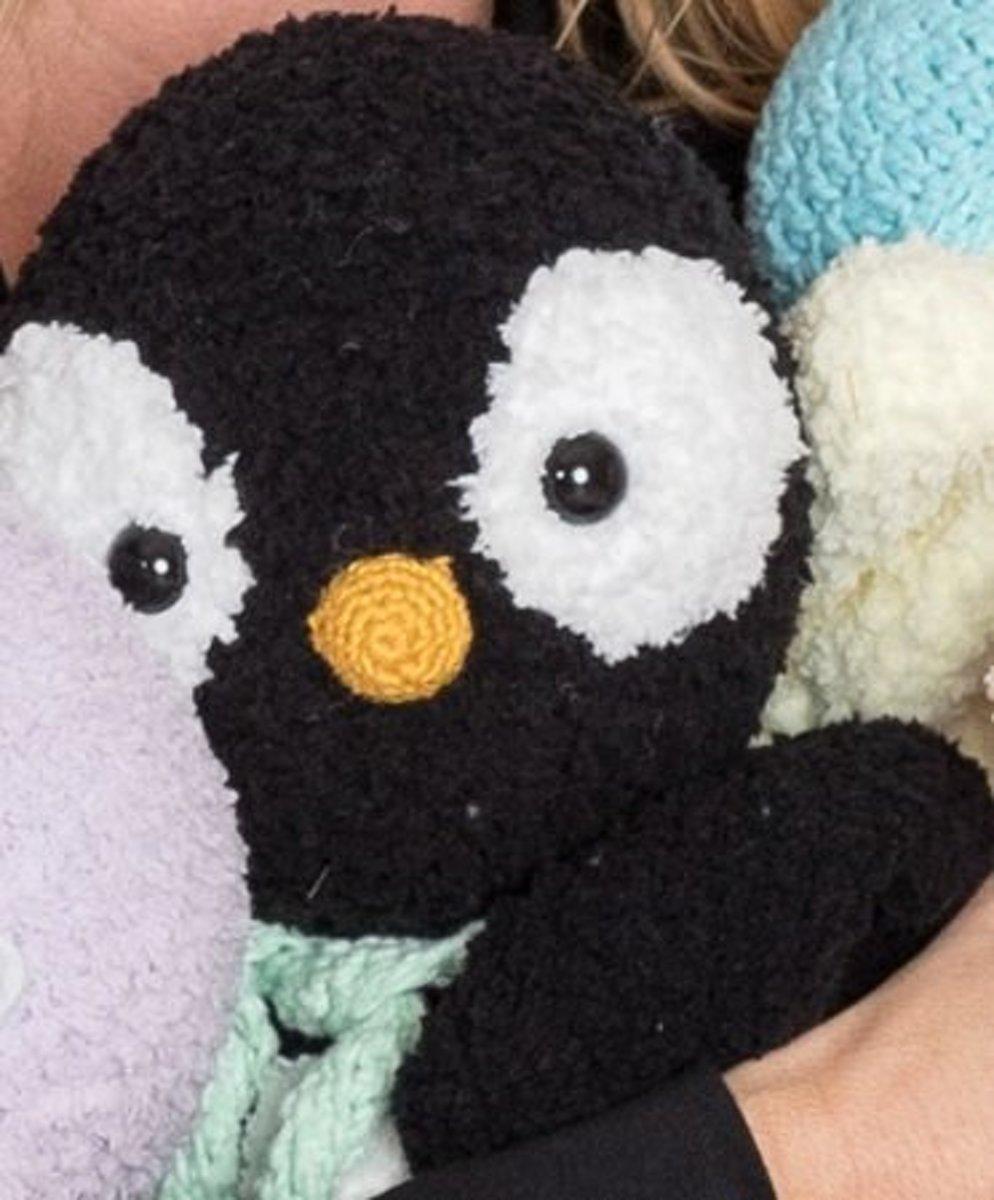 Woolytoons Garenpakket Knuffeldeken Pinguin