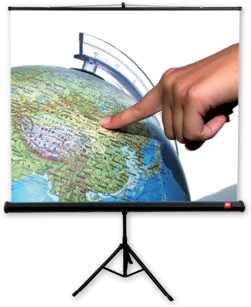 Avtek International TRIPOD Standard 150 1:1 Wit projectiescherm kopen