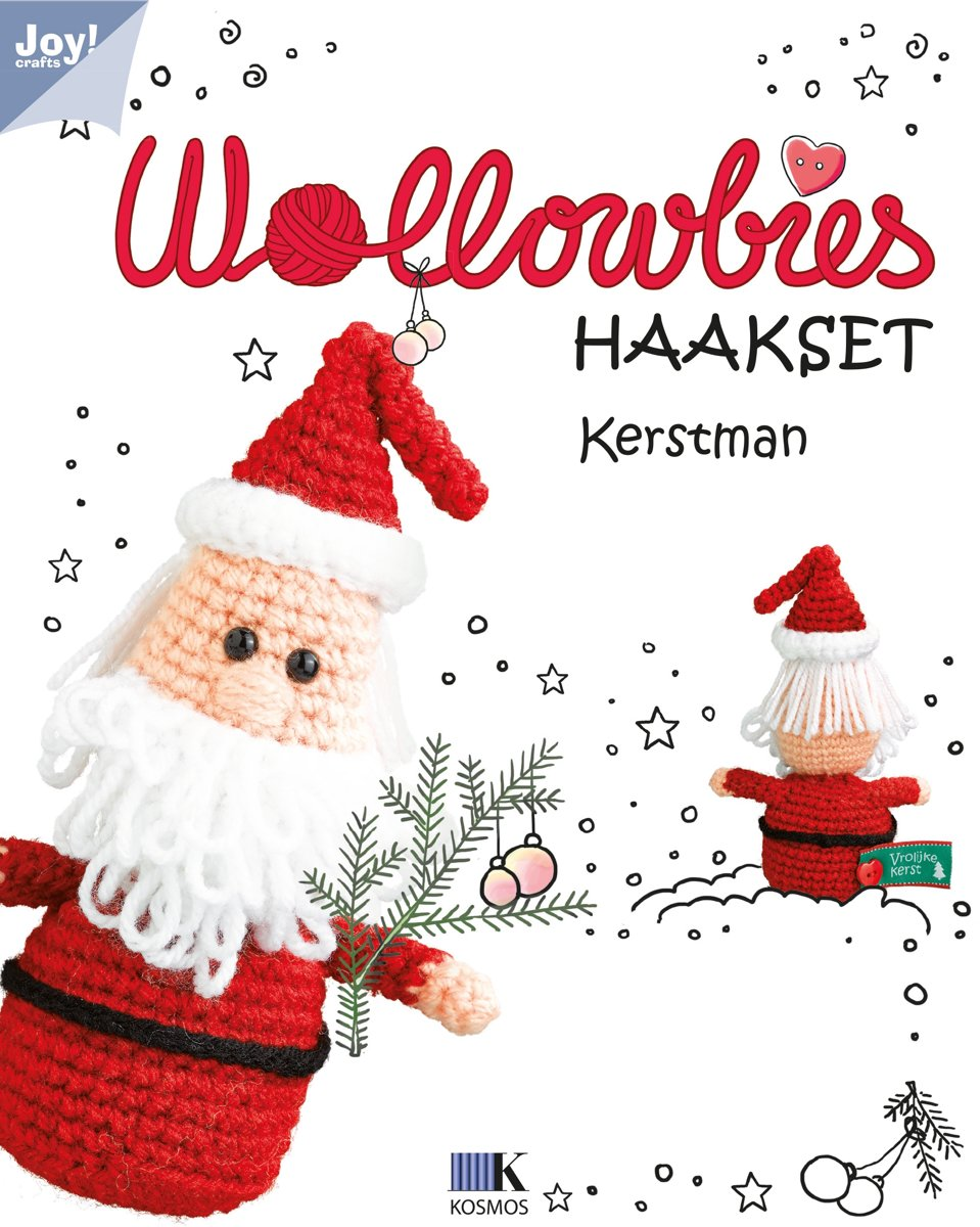 Wollowbies - Kerstman 7900/0004