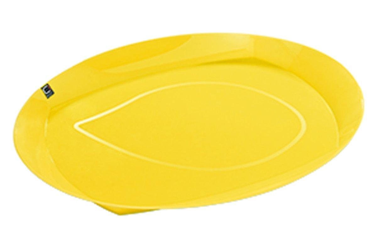 Cuisine-C Viva Summer Dienblad - Ovaal - 44 cm x 33 cm x 7 cm - Geel