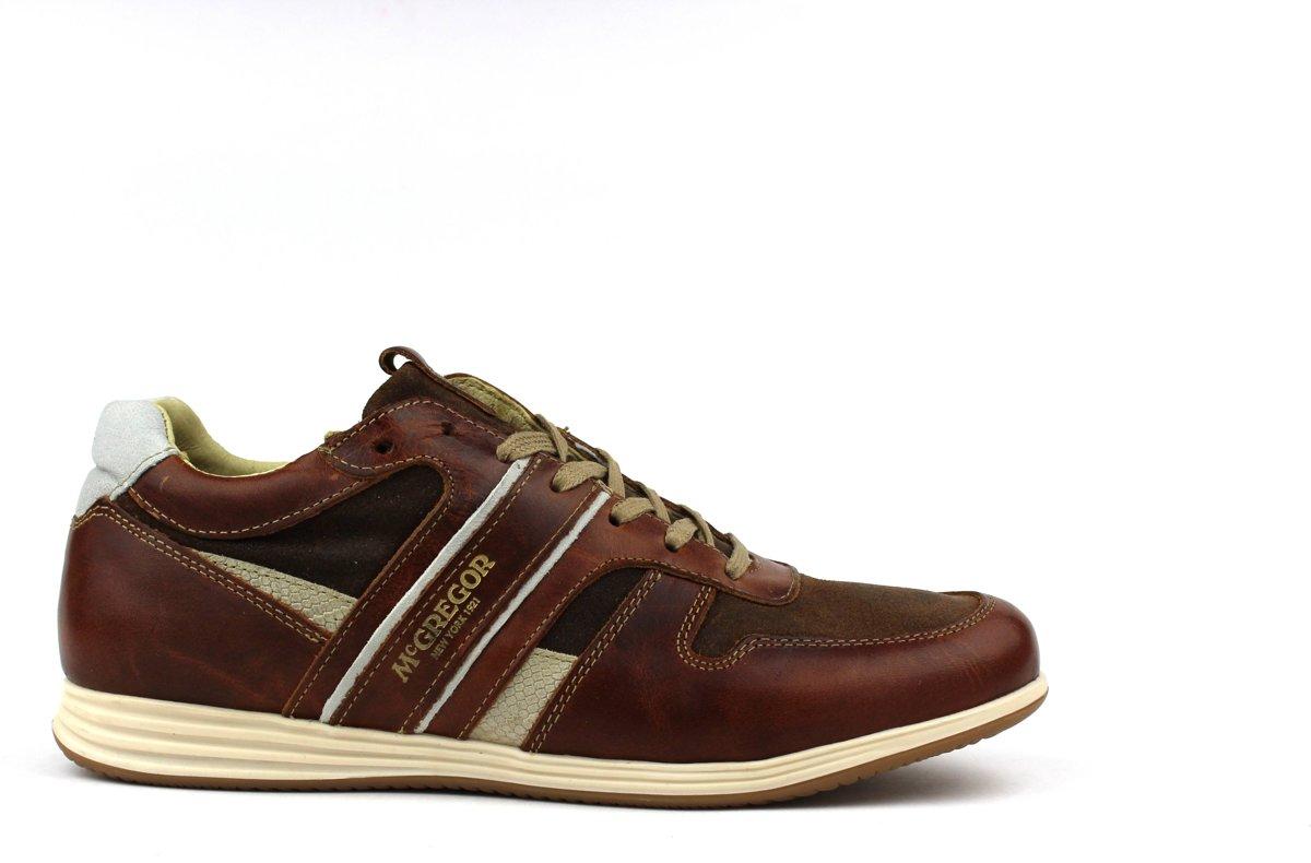 00bdba2e053 bol.com | McGregor - Heren Sneakers Williams - Bruin - Maat 42