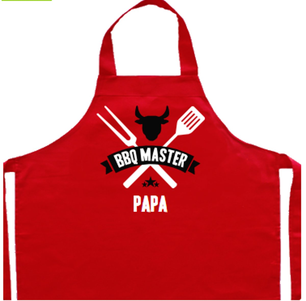 Vaderdag kookschort | rood, BBQ master papa kopen