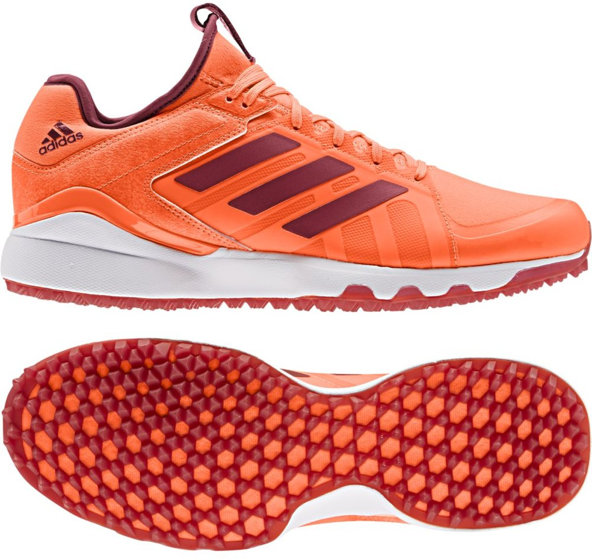 Adidas Lux 1.9S Hockeyschoenen Outdoor schoenen oranje 38