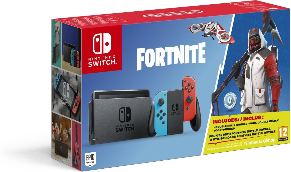 Nintendo Switch Console - Fortnite bundel Switch
