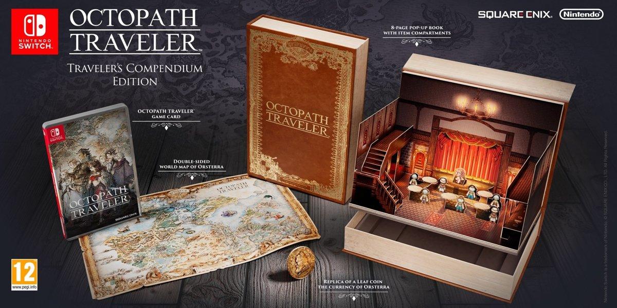 Octopath Traveler - Traveler's Compendium Edition Switch