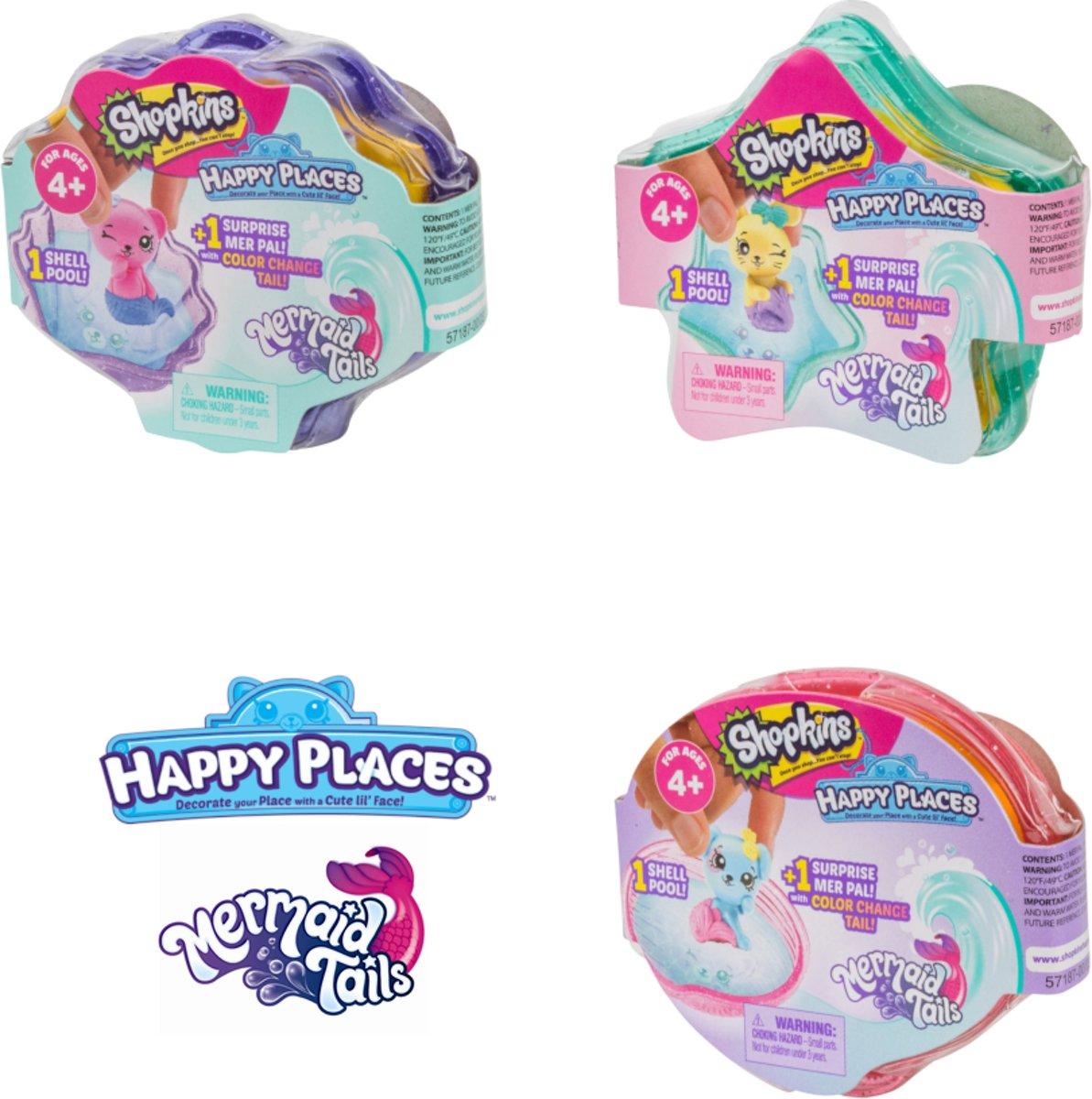 Happy Places - Mystery Pack Season 6 (3 stuks)