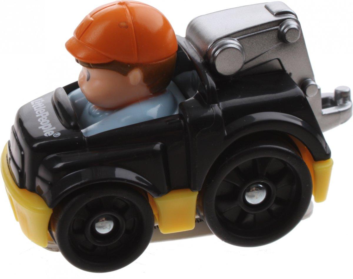 Fisher-price Little People Wheelies Auto 6,5 Cm Zwart (y5959)