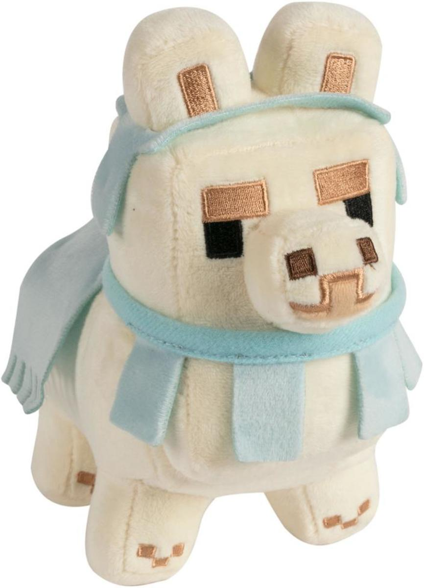 MINECRAFT - Pluche Happy Explorer - Baby Llama White - 16cm