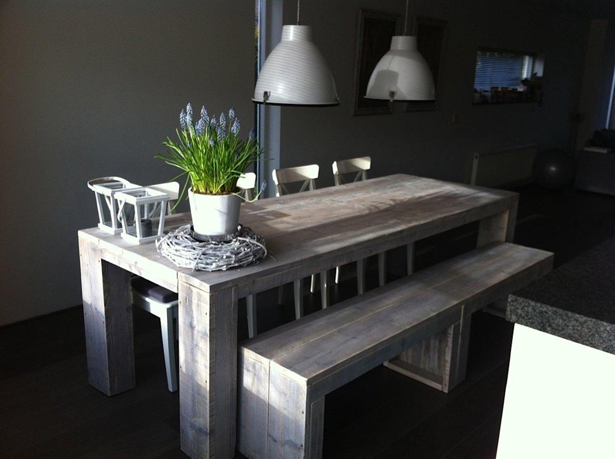 Bol steigerhouten tafel bouwpakket met uitgebreide handleiding