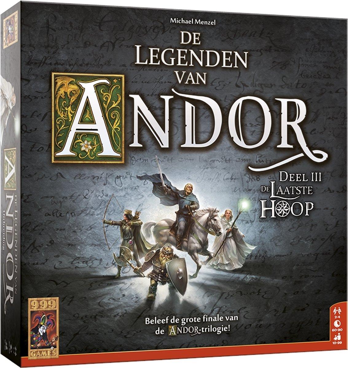 De Legenden van Andor: De laatste Hoop Bordspel