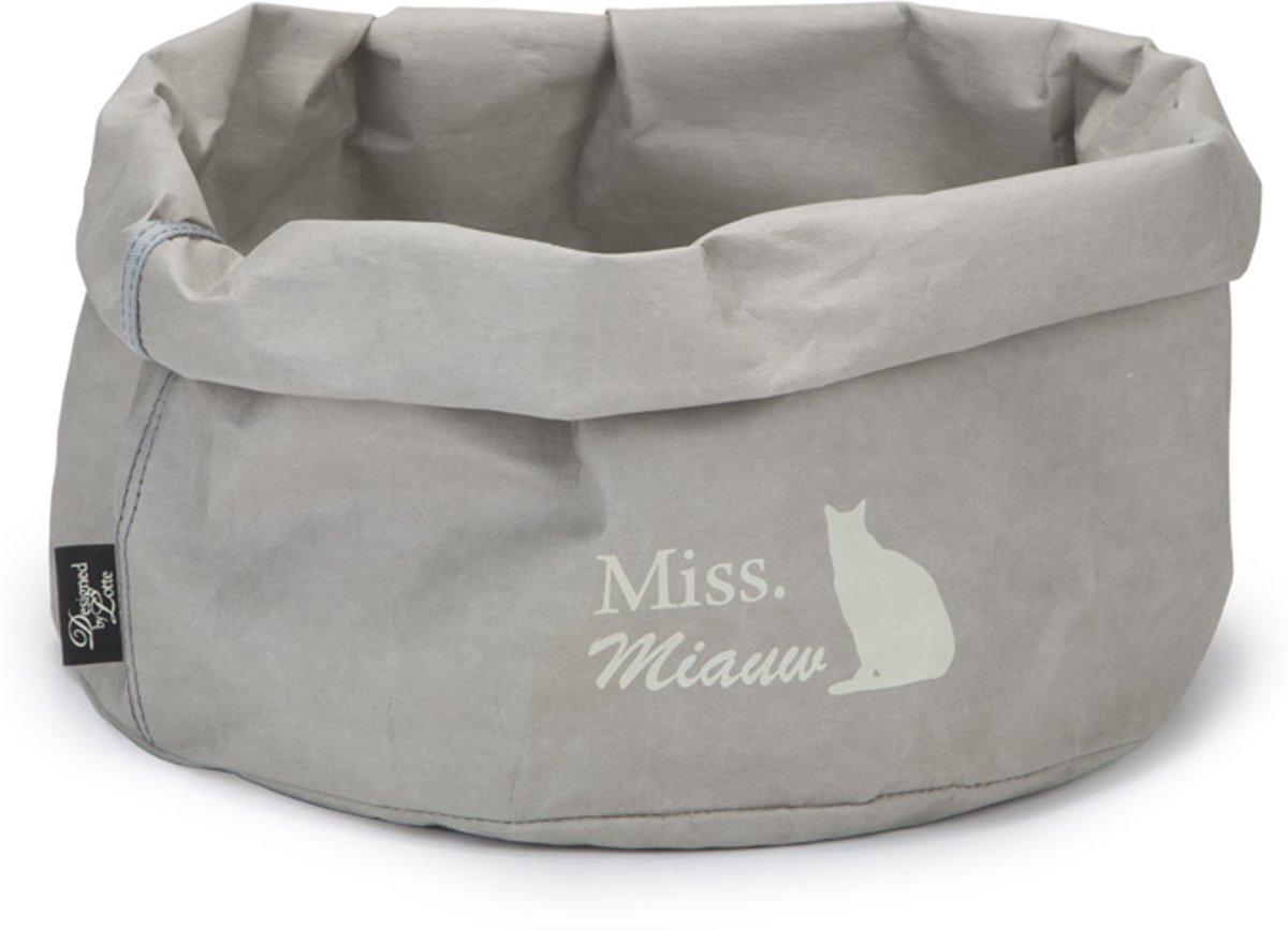 Designed by Lotte papieren kattenmand miss Miauw 40 cm