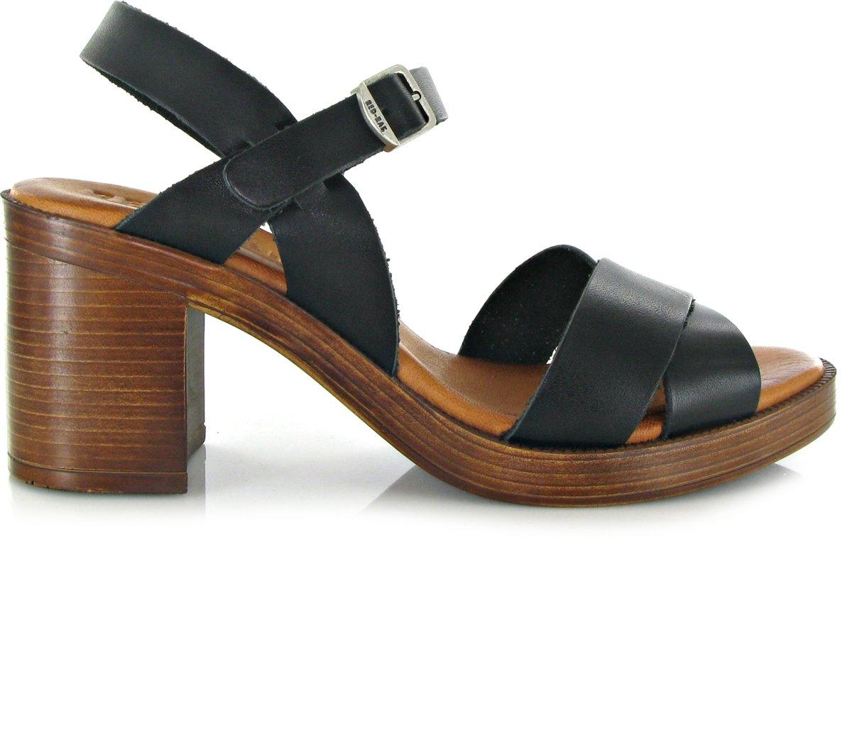 RED-RAG Dames Sandalen 79174 - Zwart - Maat 39 kopen