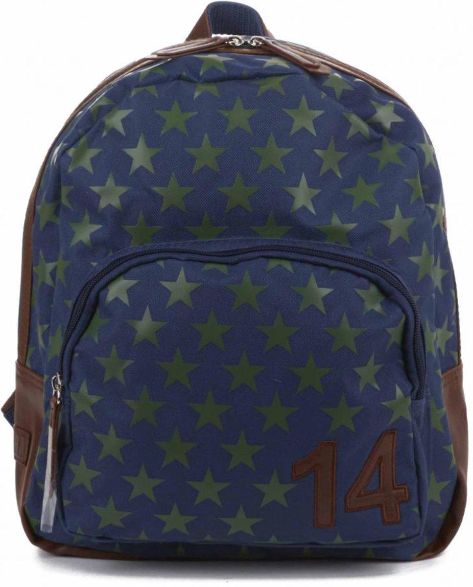 99ff97db5fa bol.com   Zebra Trends BOYS Rugzak STAR - Blue