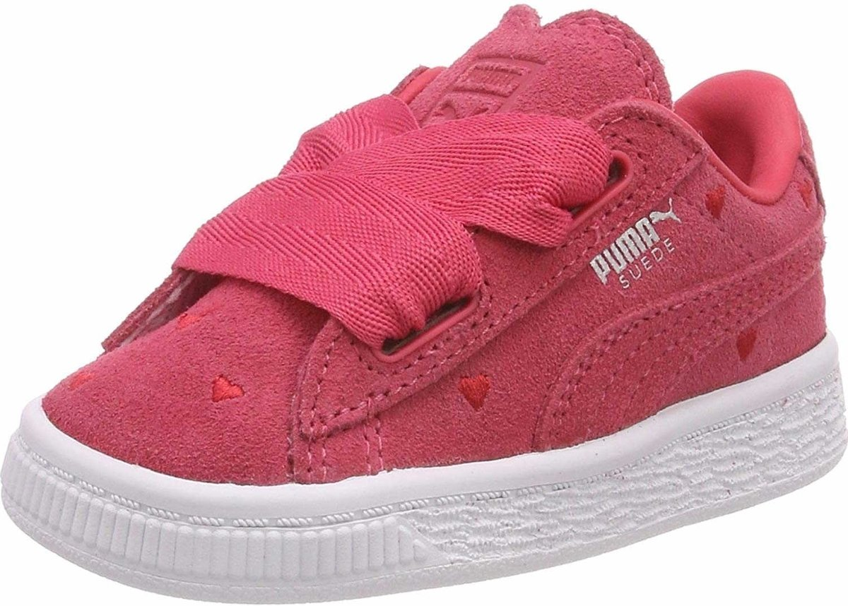 Suede Heart Valentine Inf Paradise Pink Paradise maat 24