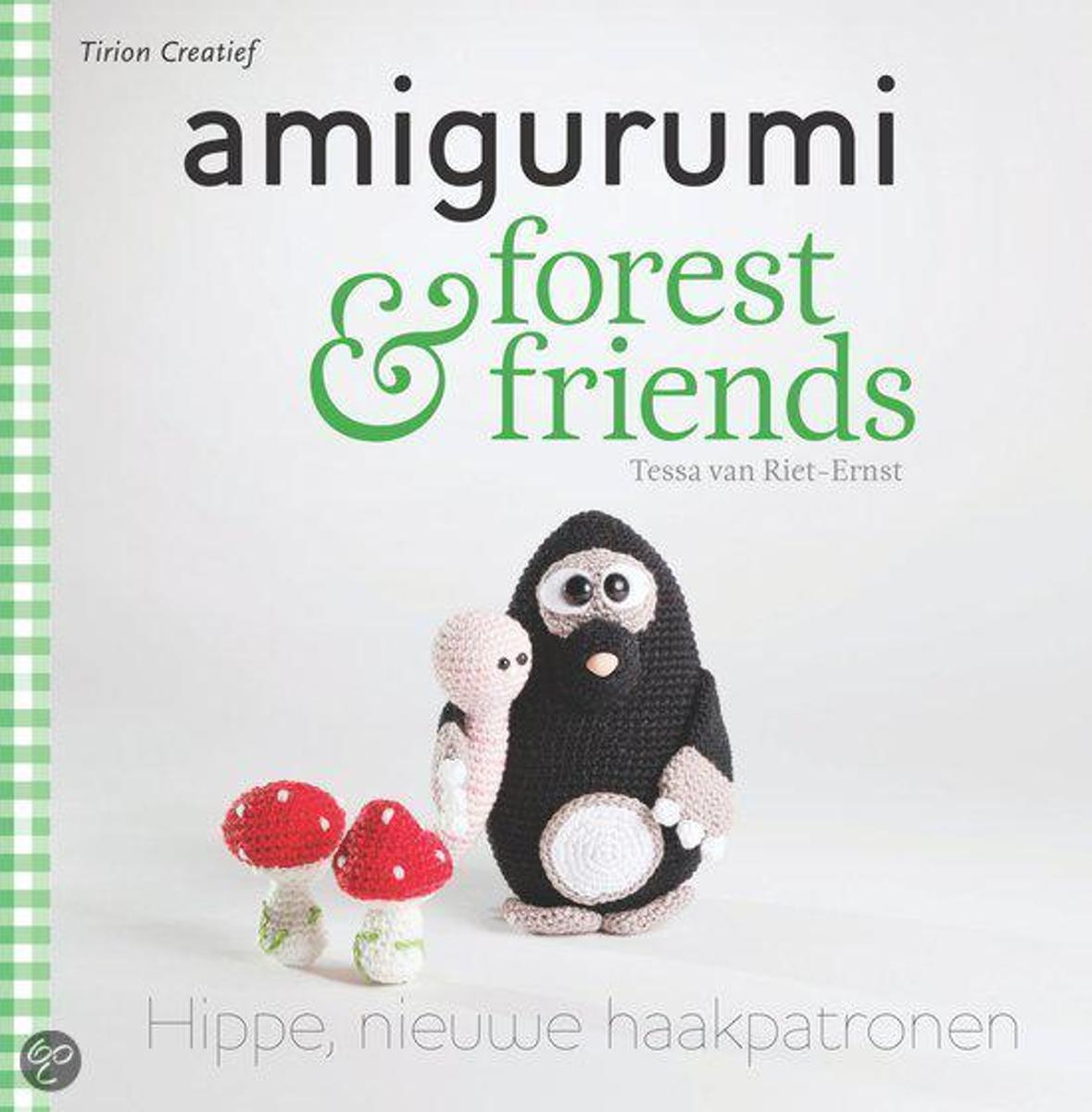 Bolcom Amigurumi En Forest Friends Tessa Van Riet Ernst