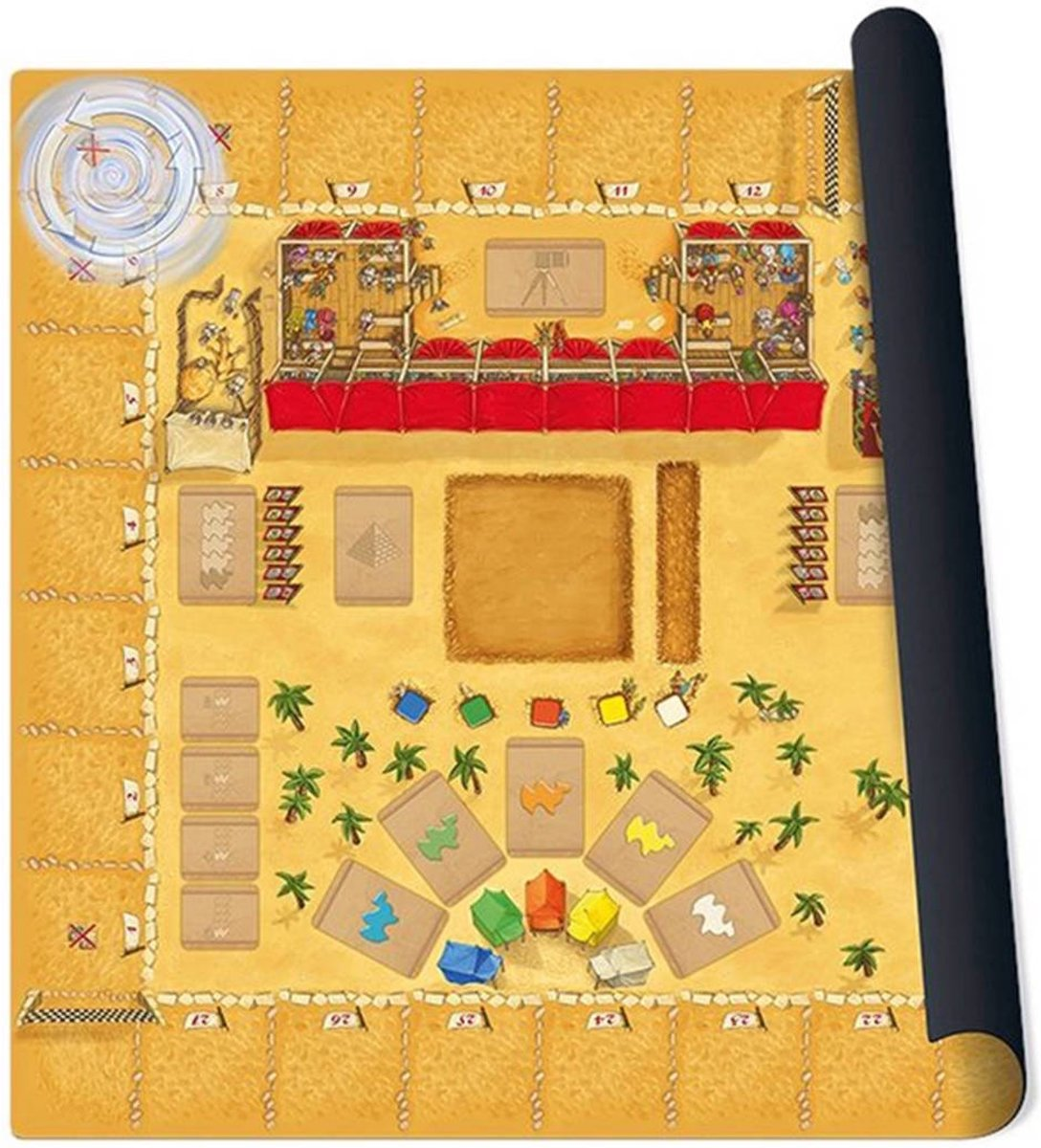 Camel Up playmat Grandprix of the Sahara Bordspel Speelmat
