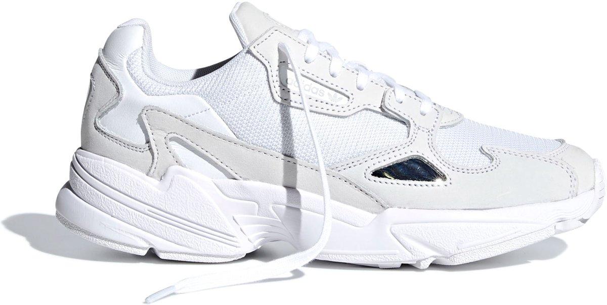 | adidas Falcon W Dames Sneakers Ftwr WhiteFtwr