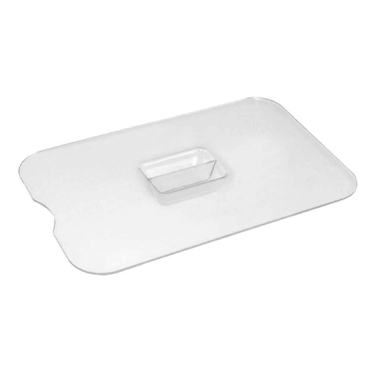 Kristallon plat deksel met lepeluitsparing voor 0.75ltr schaal kopen