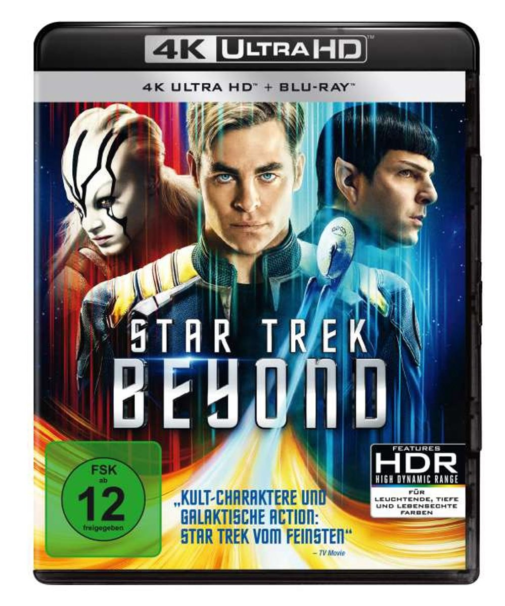 Star Trek Beyond (Ultra HD Blu-ray & Blu-ray)-