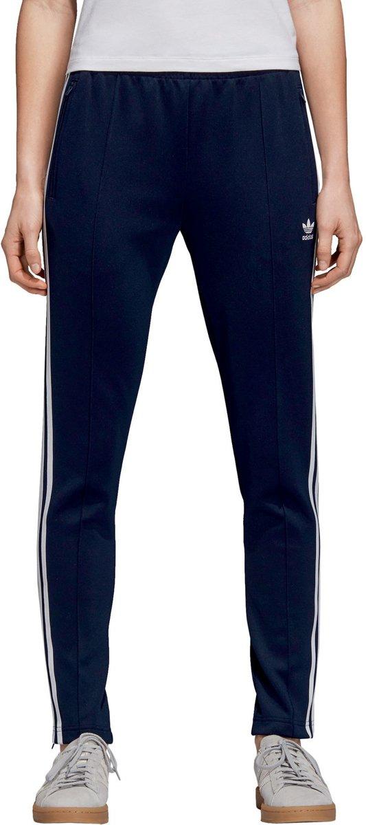 بقعة ليلية النسبة المئوية تزود adidas sst trainingsbroek dames blauw