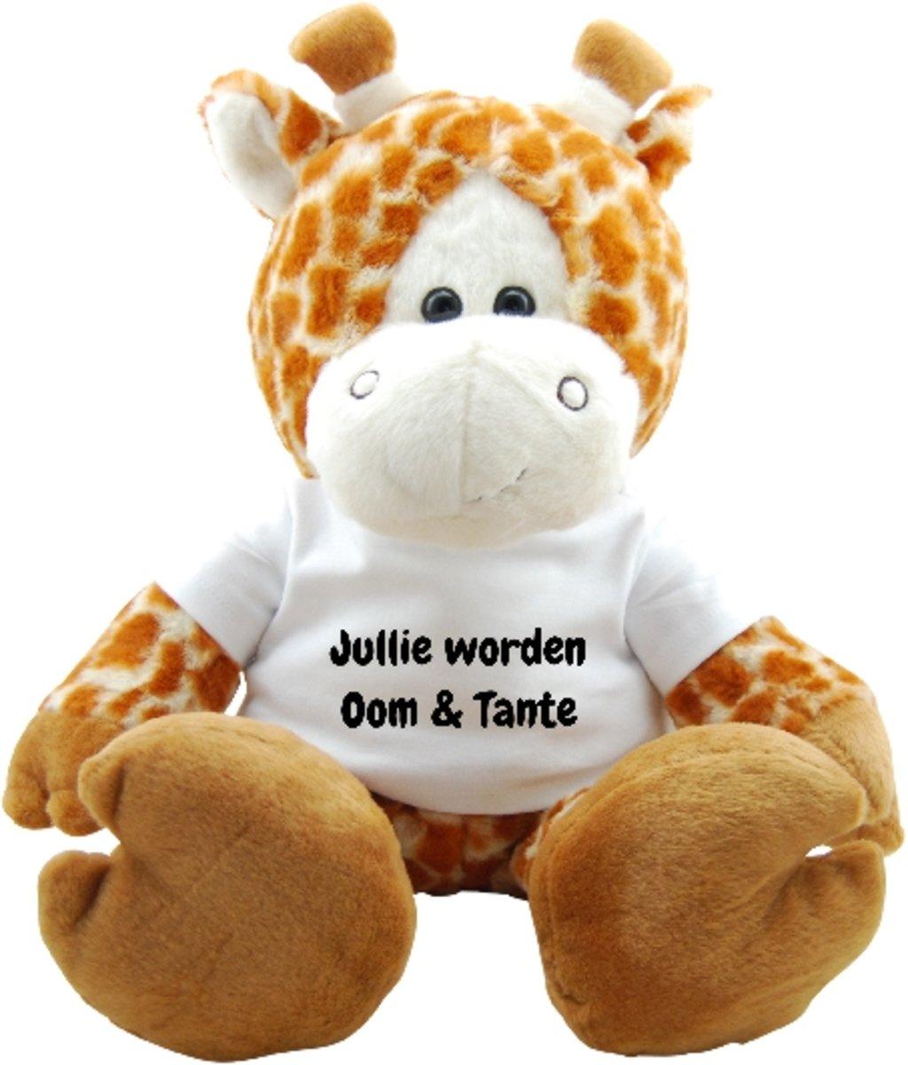 Knuffel Funnies Giraf Jullie worden Oom en Tante kopen