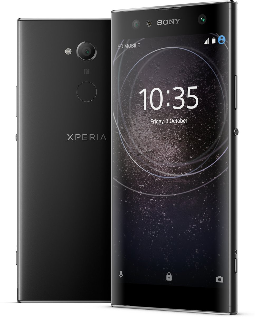 Sony Xperia XA2 Ultra zwart kopen