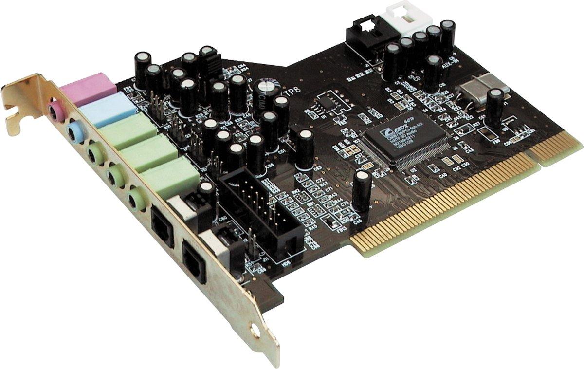 Terratec SoundSystem - Aureon 5.1 PCI - Interne geluidskaart kopen