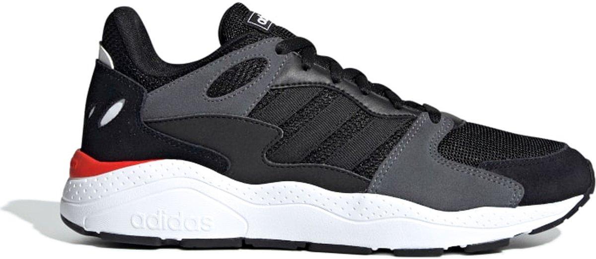 adidas Sneakers Maat 46 Mannen zwartgrijsroodwit