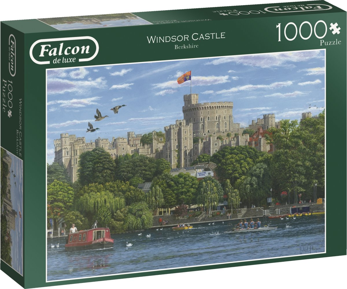 Around Britain Windsor - Puzzel 1000 stukjes