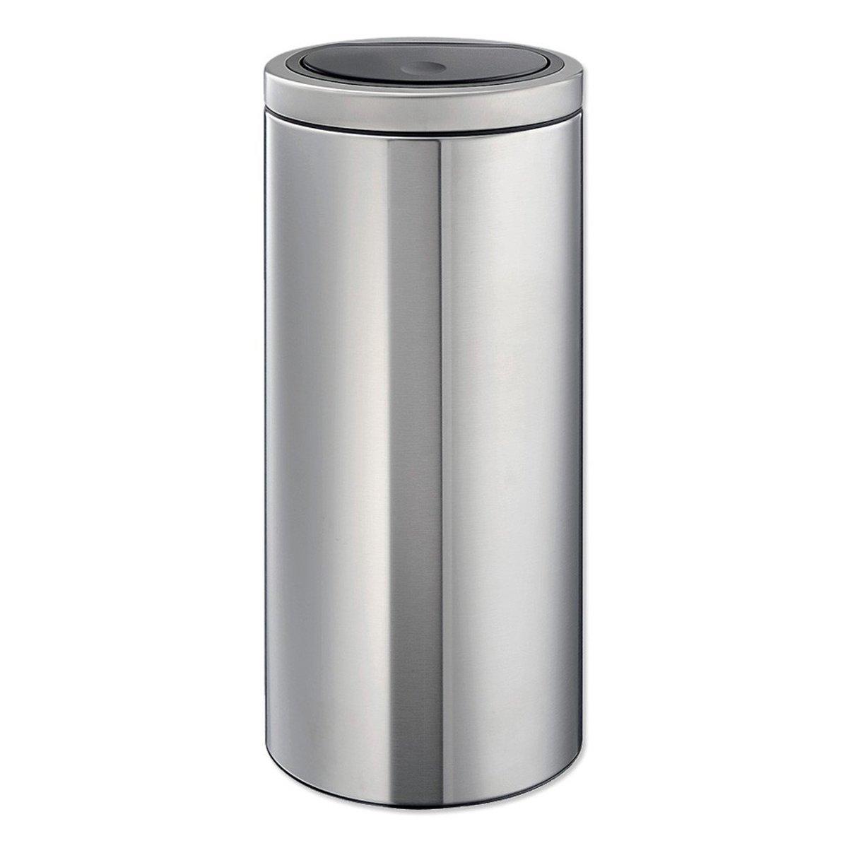 Brabantia Touch bin flat top - 30 liter - matt steel