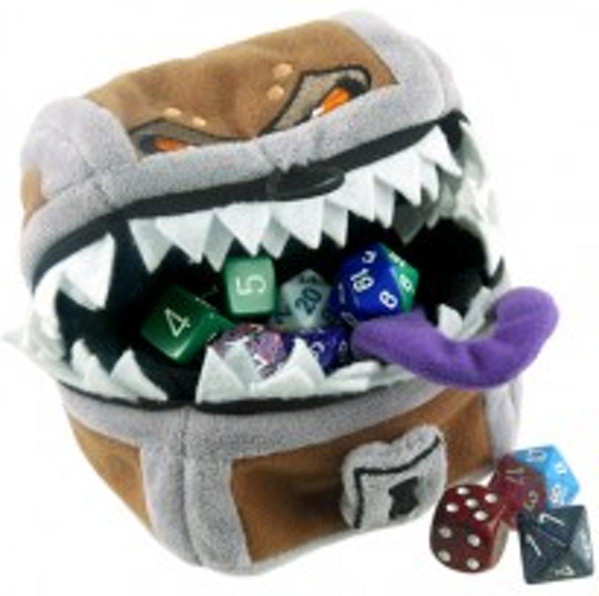 DICE BAG D&D Mimic Gamer Pouch
