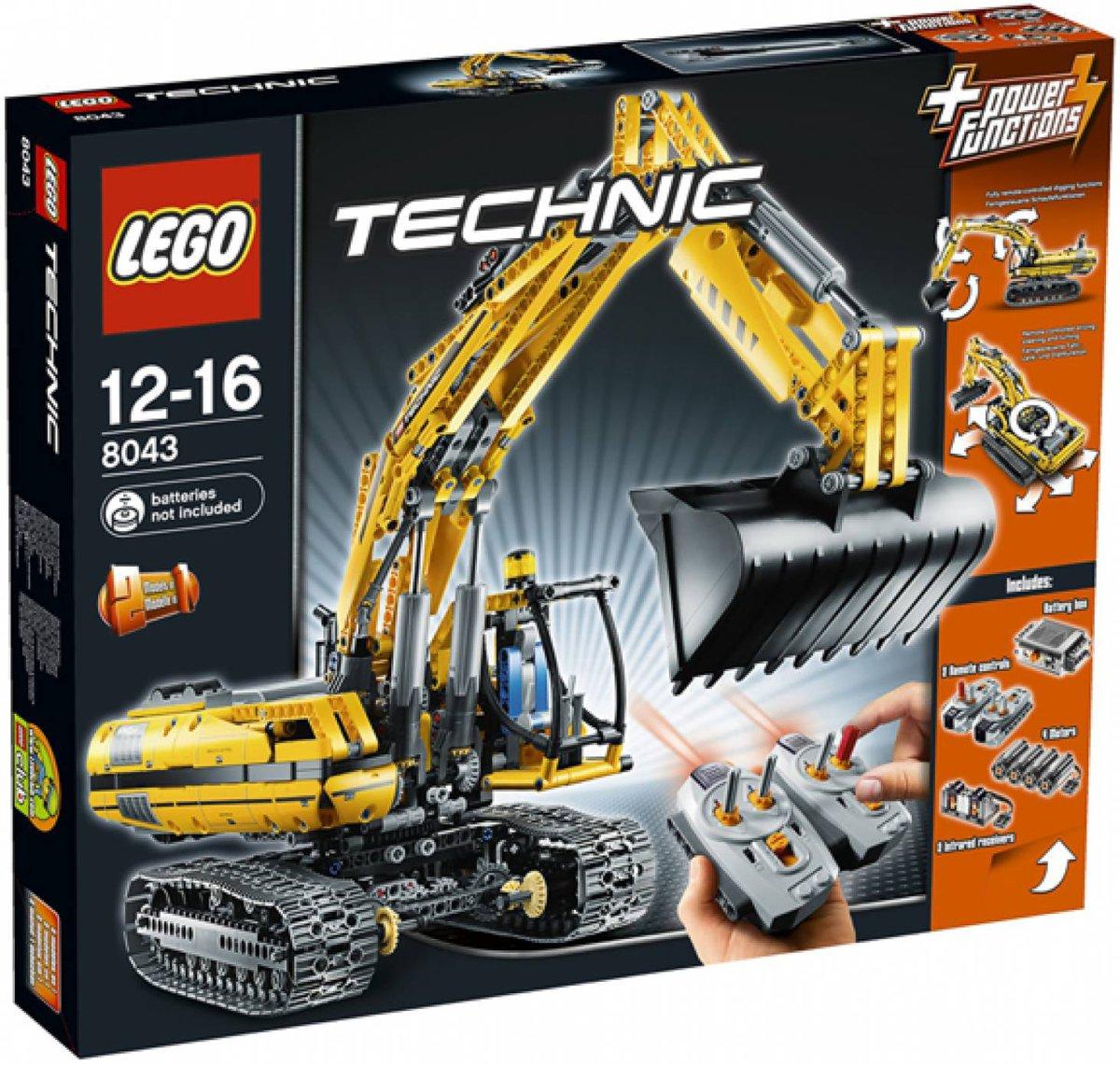 LEGO Technic Graafmachine met Motor - 8043