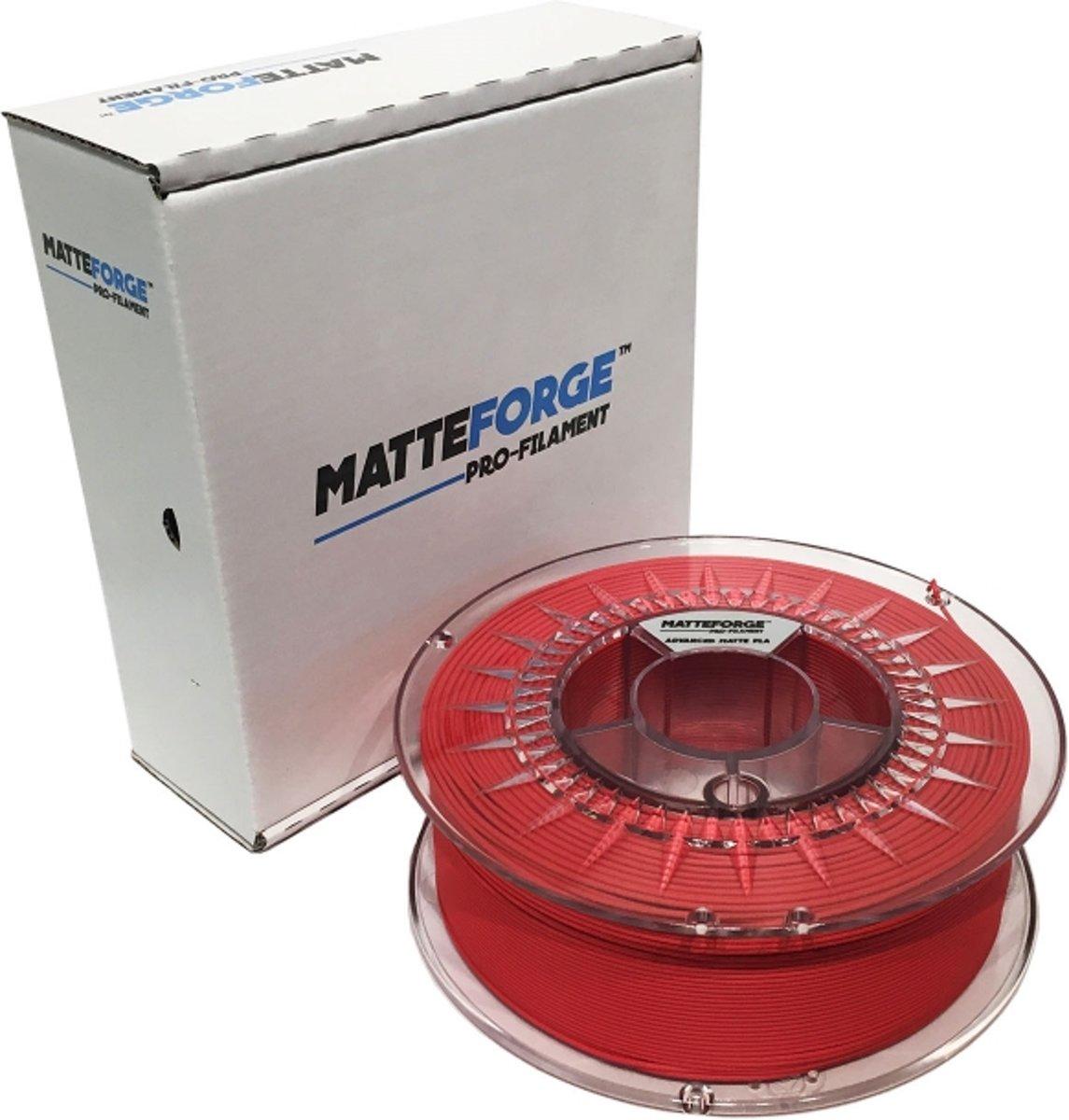 Matteforge PRO PLA sterk als ABS - 1 kg (1.75 mm) - ROOD