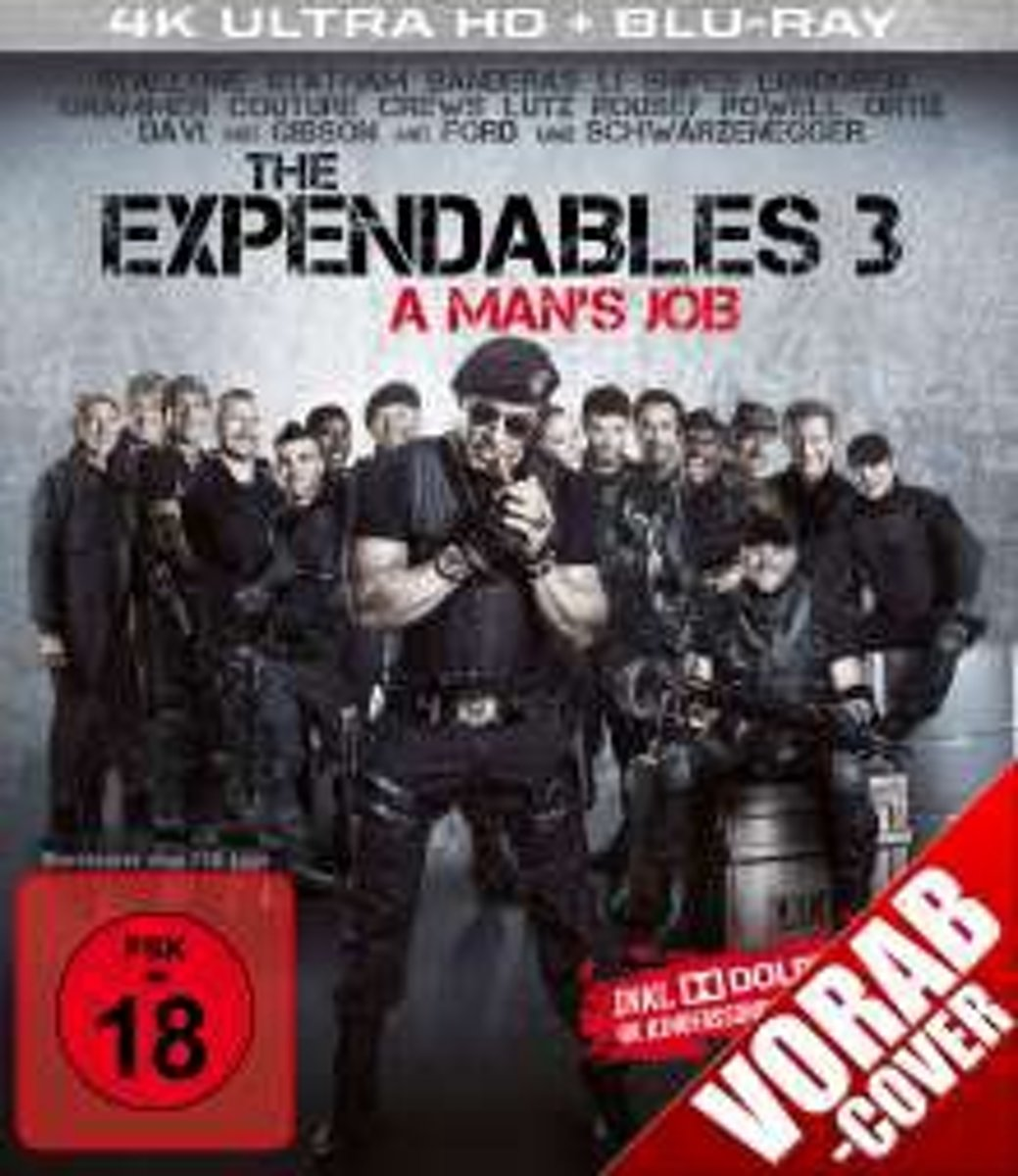 The Expendables 3 (Ultra HD Blu-ray & Blu-ray)-