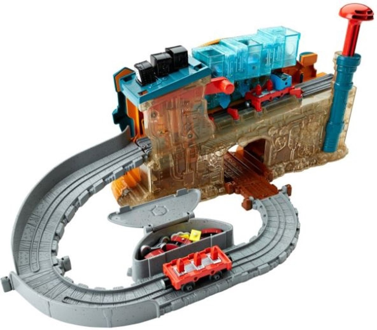 Thomas De Trein Speelset: Locomotief Bouwen (dmv91)