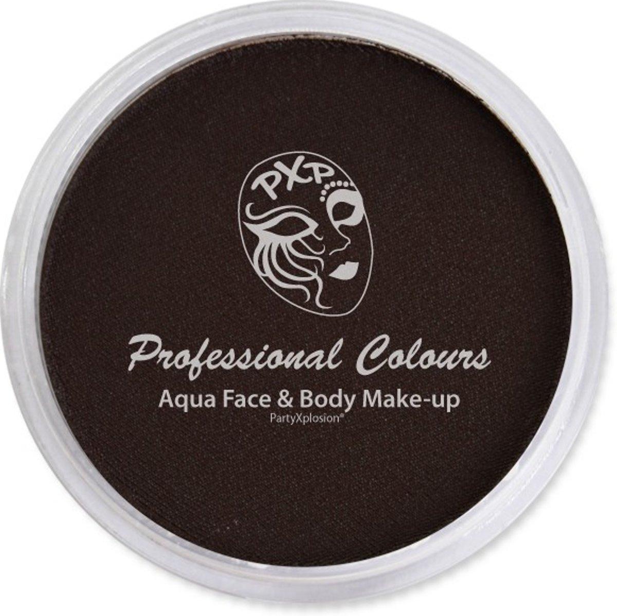 Aqua body & facepaint PXP 10 gr Dark Brown FDA&EU compliant