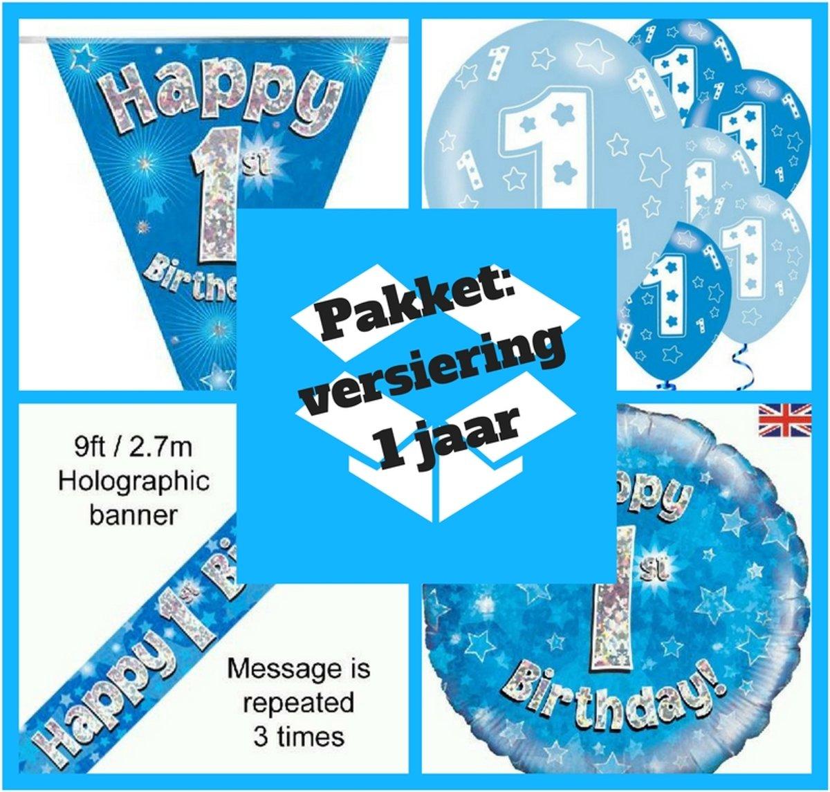 Stropdas Voor De Eerste Verjaardag 1 Jaar Versiering Jongen