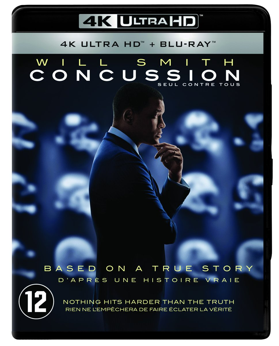 Concussion (4K Ultra HD Blu-ray)-