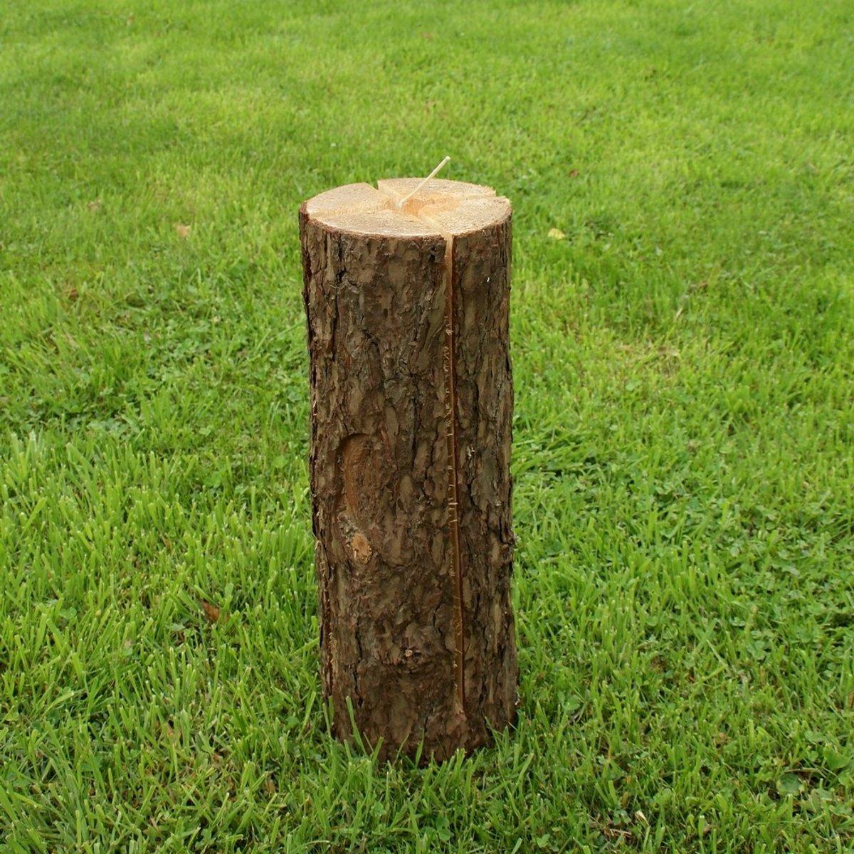 Boomfakkel houttoorts 50 cm - set van 4 stuks kopen