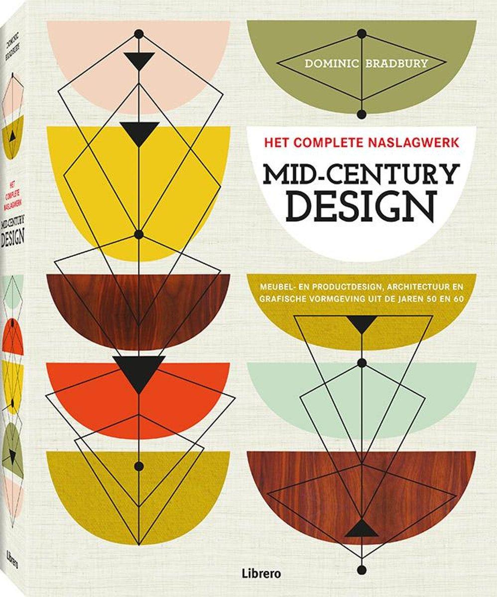 Design Meubelen Jaren 50.Bol Com Mid Century Design Dominic Bradbury 9789089986146 Boeken