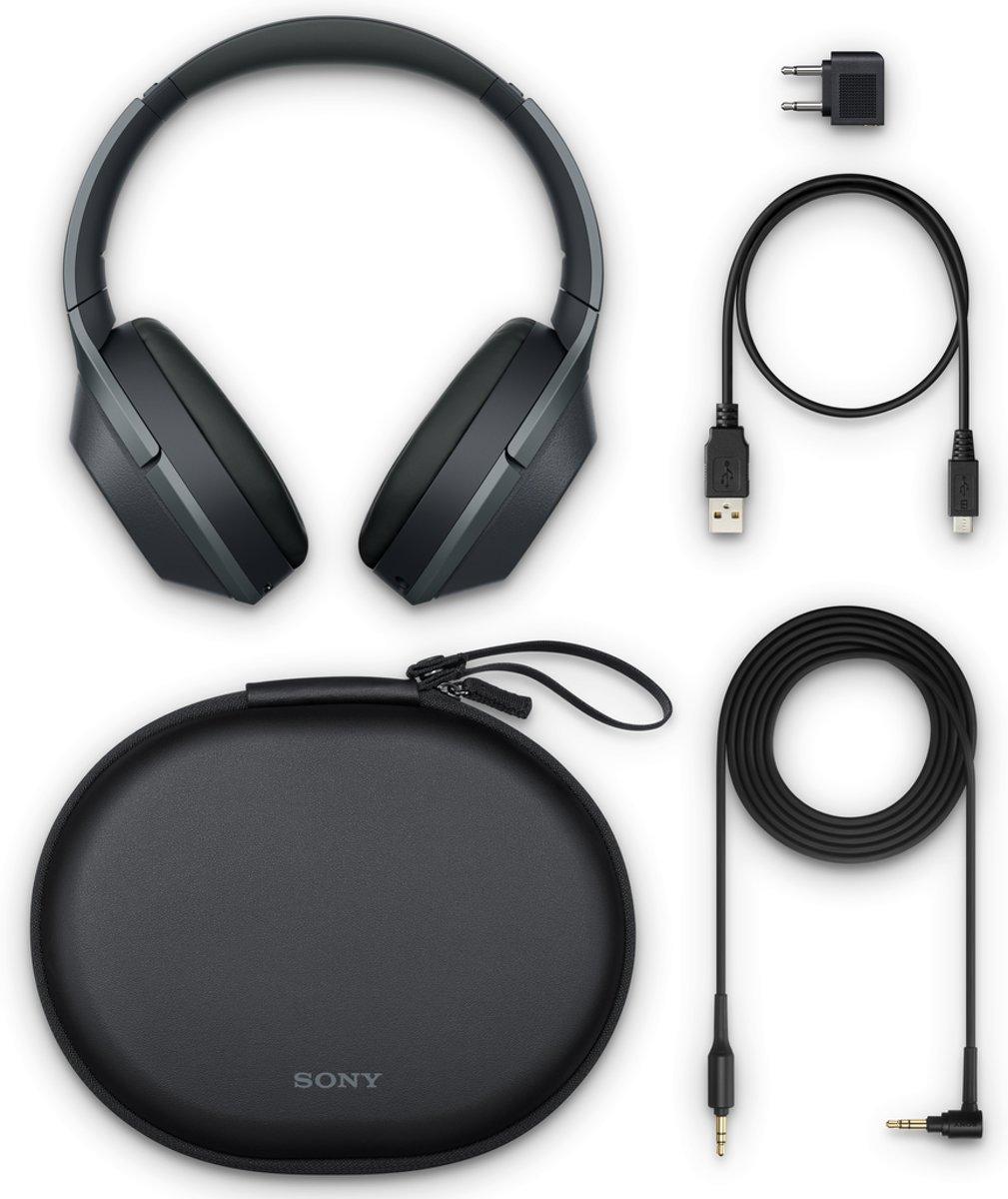 Sony WH-1000XM2 - Draadloze koptelefoon met Noise Cancelling - Zwart