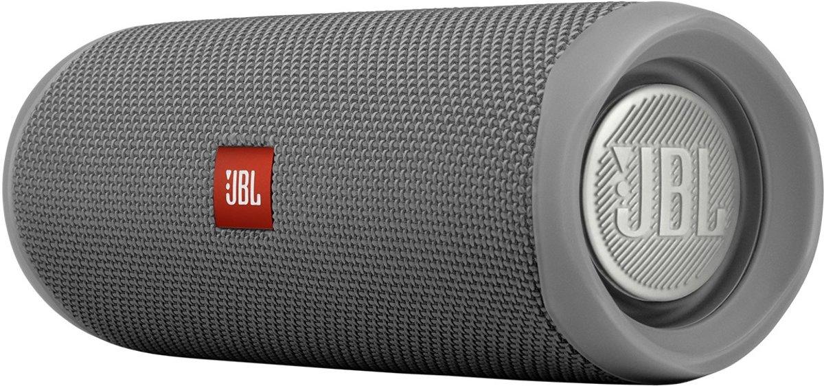 Aktie - JBL Flip 5 - Portable Bluetooth Speaker - Battery - Waterproof IPX7 - Partyboost - Grijs kopen