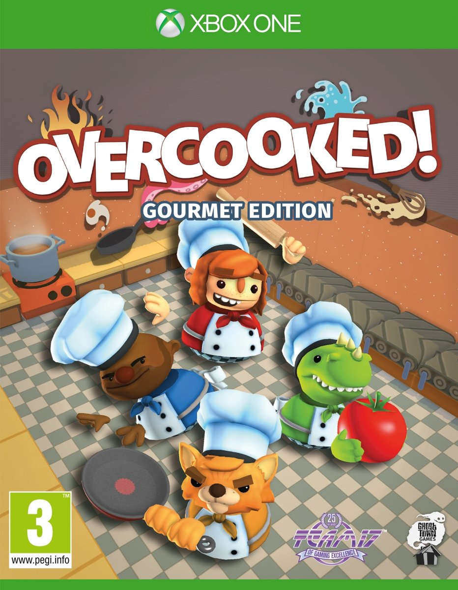 Overcooked! - Gourmet Edition Xbox One